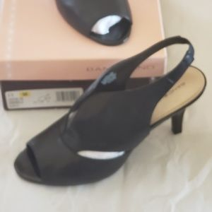 8fa5212658 Bandolino. Slingbacks. $25 $60. Size: 11 · Bandolino · jzeledon jzeledon ·  Bandolino · BANDOLINO Black Shiny Peekaboo Toe Slingback Heel